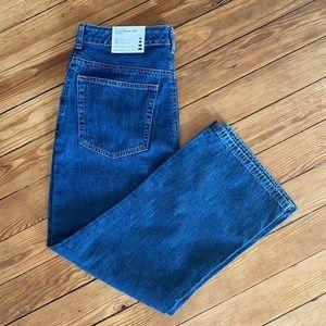 Lands End Misses Cropped Jeans Slim Fit Size 8